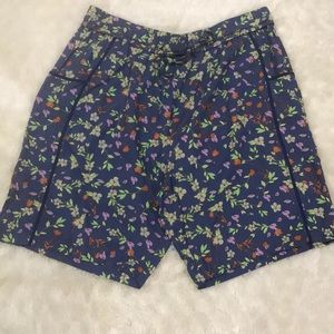 Anthropologie Oversized Floral Short